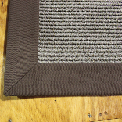 3-in Cotton Binding Mitered Corner, Brown